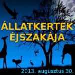 Állatkertek Éjszakája 2013