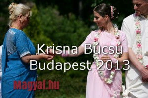 Krisna Búcsú Budapest 2013