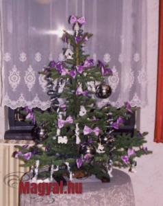 Karácsonyfám az 1990 évek elejéről
