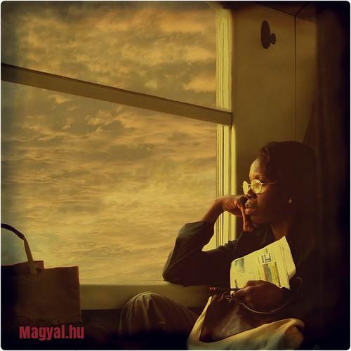 vonatban