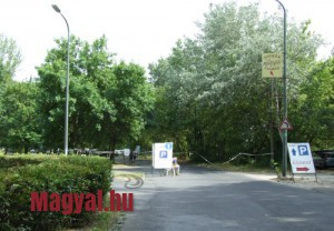 Gyerek sziget 2014 parkoló