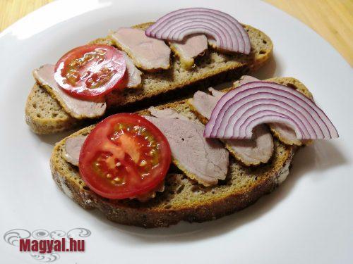 Libamelles szendvics
